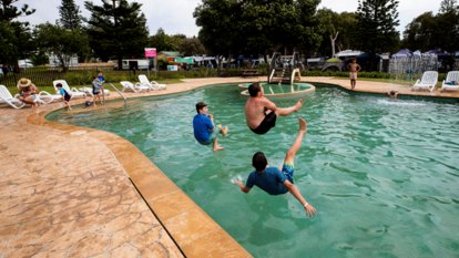 'Busiest on record': Holiday parks boom as travellers stick close to home