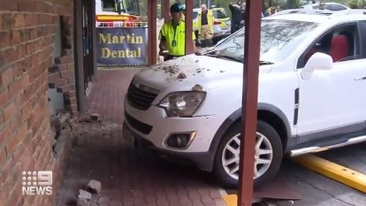 Learner crashes into Gold Coast MP office, sparking fears of political attack