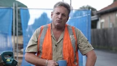 Sydney tradesman Andrew MacRae was featured in a television ad paid for by the Liberal Party in 2016.