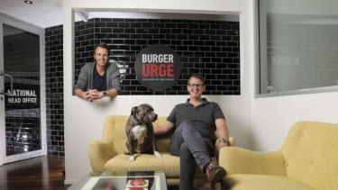 Sean Carthew and Colby Carthew of Burger Urge