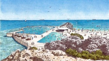 The Cottesloe pool proposal has also been shelved.