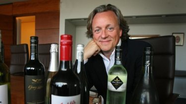 New AWH chair and ex-Treasury Wines boss David Dearie.