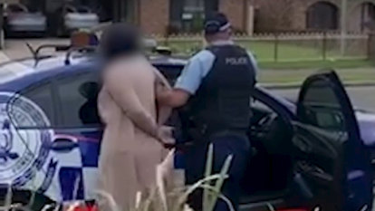 Woman claiming she was going to COVID-19 testing allegedly spat at police after car chase