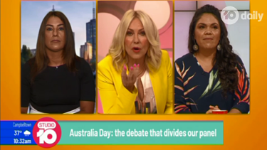Lidia Thorpe and Jacinta Price appeared on Studio10 in a debate with host Kerri-Anne Kennerley.