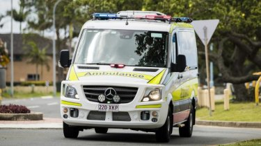 Specialist critical care paramedics responded to the Morayfield incident, in which two men were hit by a car.
