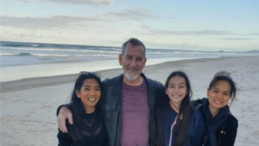 Opposition Leader Deb Frecklington has asked the Premier to order an urgent review of the Sarah Caisip's  (pictured far left) case and consider letting her leave quarantine to attend her father's funeral.