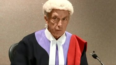 NSW District Court judge Mark Williams SC.