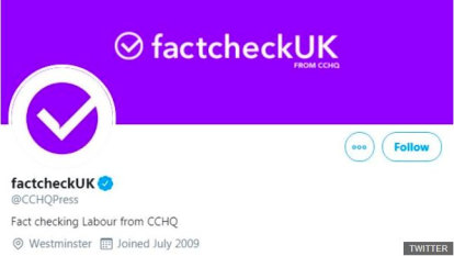 Tories slammed for 'fake fact check' election debate tactic
