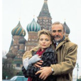 Sean Connery and Michelle Pfeifer in The Russia House.