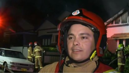 Firefighters who helped stop CBD stabbing rescue man from burning home