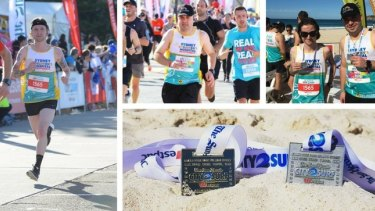 Scenes from Jarrett Anthoney's and Mark Scarborough's previous assaults on the City2Surf.