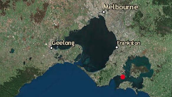 Small earthquake felt off the Mornington Peninsula
