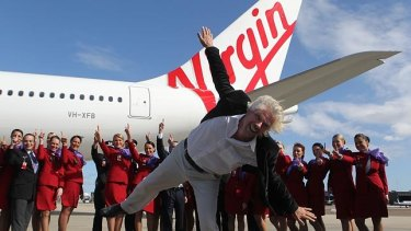 Richard Branson's Virgin Group was a co-founder of Virgin Australia and owned 10 per cent of the company when it collapsed in April.