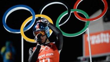 The Men's Ski Jumping at the 2014 Sochi Winter Olympics.