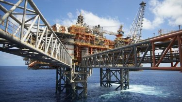 Chevron's $29 billion Wheatstone liquefied natural gas project in WA.