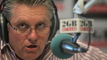 2GB presenter Ray Hadley.