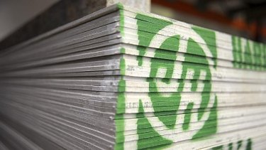 James Hardie has suspended dividend payments and is closing three plants.
