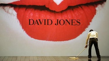 David Jones has already shown what its future will look like - it is cutting its floor plates in half.