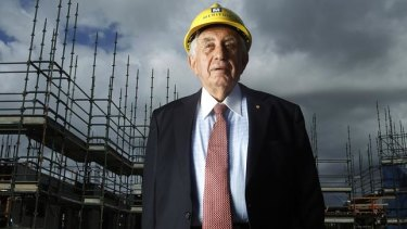 No one has more riding on Sydney's housing market than Harry Triguboff.