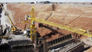 Rio Tinto's Oyu Tolgoi underground copper project is facing cost blowouts and a delay of 16-30 months.