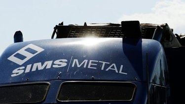 "Sims Metal had a ""challenging year""."