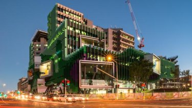 The Lady Cilento Children's Hospital was renamed the Queensland Children's Hospital last year.