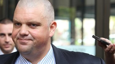 One-time billionaire Nathan Tinkler was spotted out at Derby Day at Flemington on Saturday.
