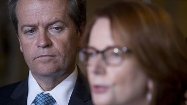 Bill Shorten has learnt from Julia Gillard and Kevin Rudd's political disasters.