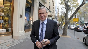 Michael Kroger resigned as Liberal Party president on Friday night.