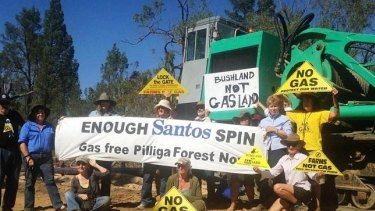 Santos's project in Narrabri has caused plenty of division.