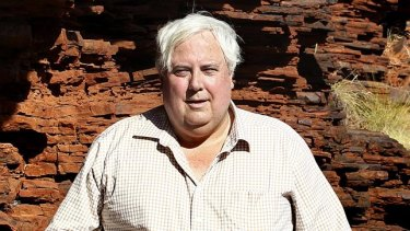 Mineralogy is Clive Palmer's private company.
