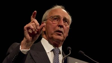 Former prime minister Paul Keating says a higher super guarantee does not necessarily mean lower wage rises as it depends on bargaining power between workers and employers