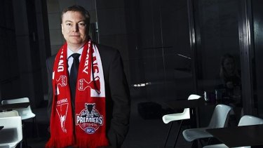 """Swans chairman Andrew Pridham  has urged the AFL to act over the incident. """"To do nothing, say nothing is highly inadequate."""""""