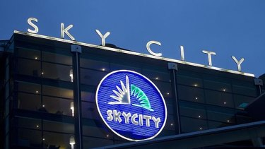 SkyCity, listed on the ASX, runs casinos in Adelaide, Darwin and Auckland.