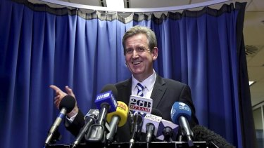 """NSWpremier Barry O'Farrell said he did not receive the $3000 Grange. """"Having checked with my wife as recently as today we are both certain that it was not received."""""""