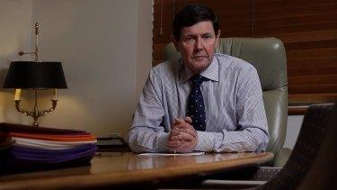Kevin Andrews, veteran Liberal MP for Menzies.