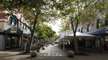 Revitalising the Newcastle CBD: Hunter Street Mall is one area that's in for an upgrade.