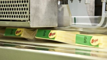 Competitive pressure from food processors has never been stronger, Bega says.
