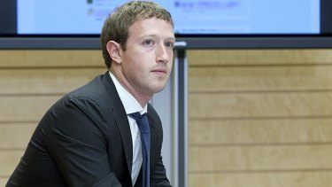 Mark Zuckerberg's Facebook couldn't get a thing right this year, racking up misstep after misstep.