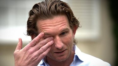 James Hird is helping with a high-tech mouthguard.