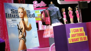 It's still Barbie,  but with a female empowerment message.