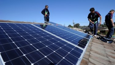 Rising numbers of solar panels offset energy demand levels but could not stop high power prices.