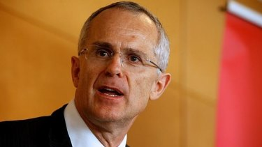 "ACCC chairman Rod Sims: ""We have a very small capital budget and our IT systems are lousy."""