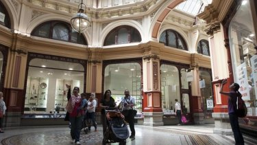 """The Block Arcade is today as it was in 1892,"" arcade manager Grant Cohen said."