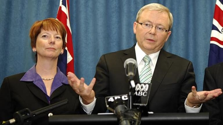 Julia Gillard took over the leadership from Kevin Rudd in 2010 before the latter returned, briefly, to the top job in 2013.