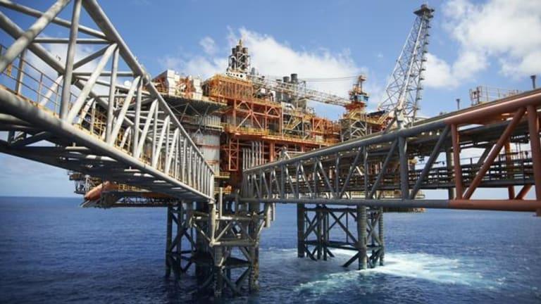 Chevron's $29 billion Wheatstone liquefied natural gas project in WA.