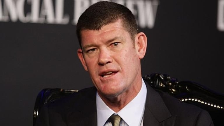 James Packer has pulled out of the wedding.