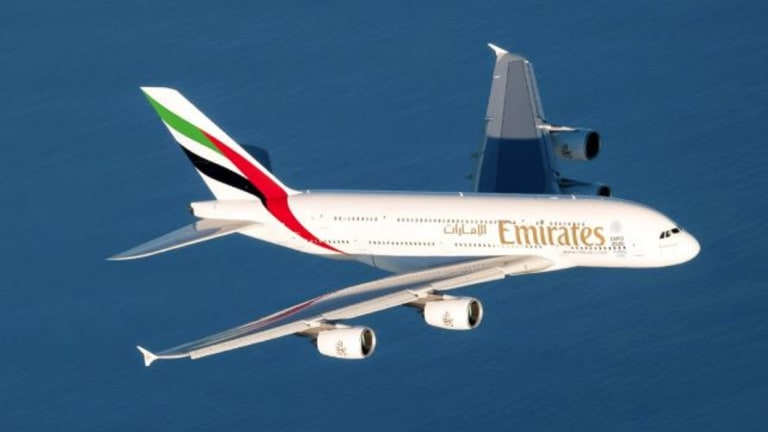 The A380 will add 945 seats per week on top of Emirates' existing two daily Brisbane services operated by Boeing 777s.