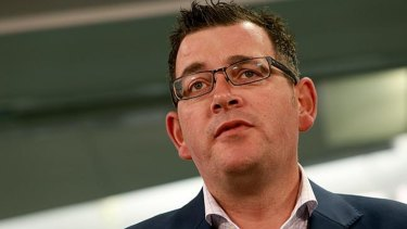 """""""We will release these contracts at an appropriate time,"""" says Victorian Premier Daniel Andrews."""