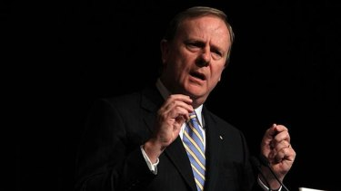 Nine Entertainment Co chairman Peter Costello wants Facebook and Google to be treated as publishers.
